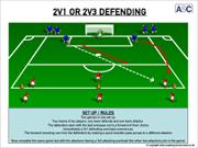 2v1 or 2v3 Defending