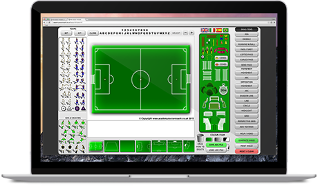 Session Template Software Academy Soccer Coach Asc
